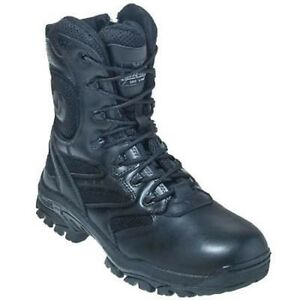 15c0cf37cc4 Details about Thorogood Work Boots Leather Side Zip 834-6291+W Non-Slip  Military Paratrooper