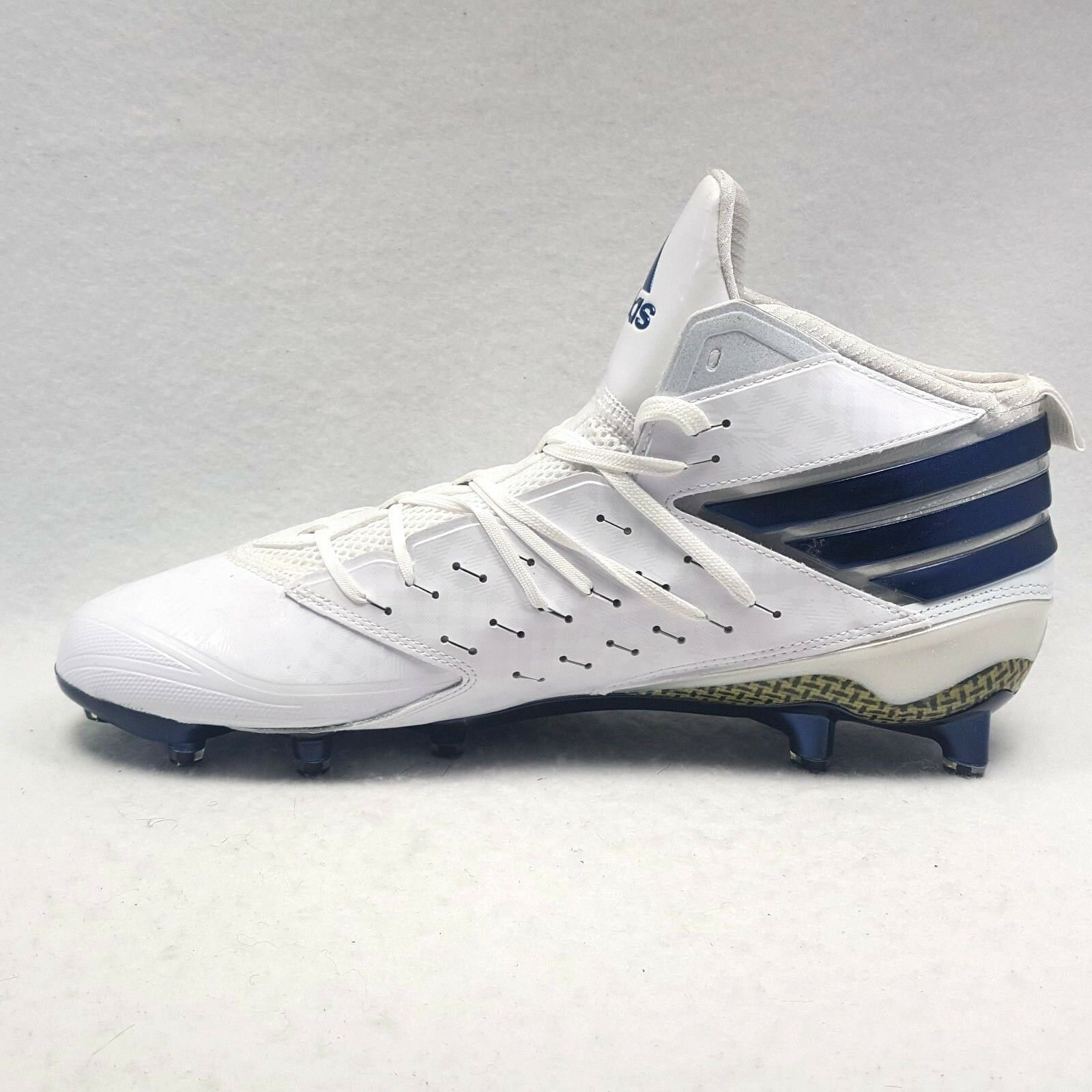 Adidas Freak X Kevlar Men's Football Cleats Sz 12.5 White Blue New