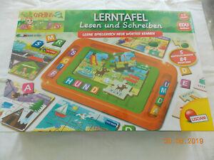 LISCIANI kleine Lerntafel Vorschule Schreiben Lesen Lernen - Vilgertshofen, Deutschland - LISCIANI kleine Lerntafel Vorschule Schreiben Lesen Lernen - Vilgertshofen, Deutschland