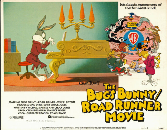 THE BUGS BUNNY/ROAD RUNNER MOVIE original 1979 lobby card 11x14 movie poster