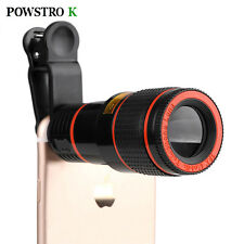 HD Mobile Phone Telephoto Lens 12 X Zoom Optical Telescope Camera Lens with Clip