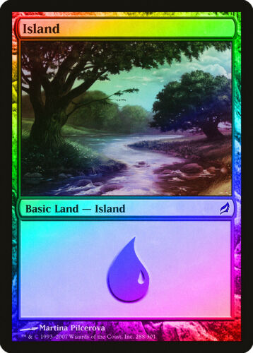 288 FOIL Lorwyn NM-M Basic Land MAGIC THE GATHERING MTG CARD ABUGames Island