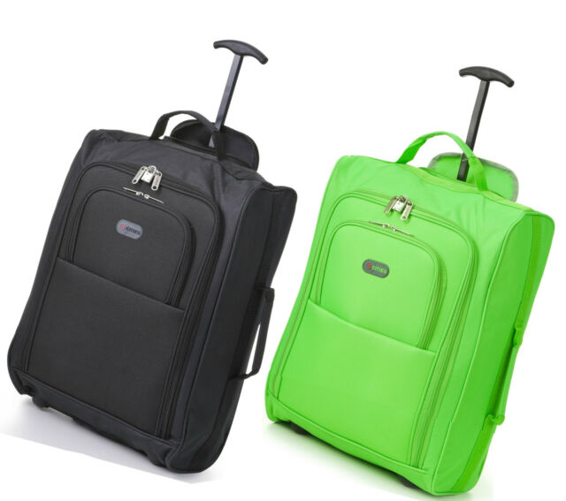 Twin 2Set Fits 56x45x25 EasyJet Trolley Cabin Approved Wheeled Hand Hold Luggage