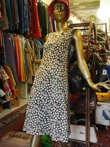 Yarda Floral Floral True Vintage S M 90s Dress Dress 90s Creation QxdtrBoshC