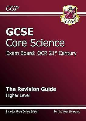1 of 1 - GCSE Core Science OCR 21st Century Revision Guide - Higher (with Online Edition)