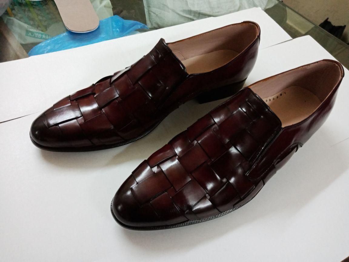 men shoes DA SPETTATORE brown BIANCO E BIANCO BIcolor CASUAL