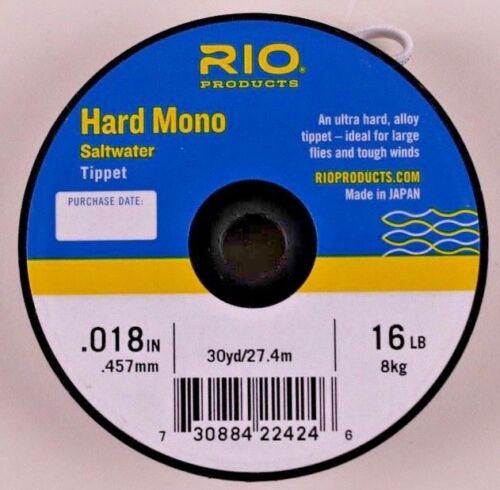 Rio Hard Mono Saltwater Tippet 8 10 12 16 20 25 30 Pound  Free Shipping Options