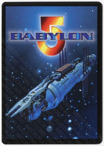 Babylon 5 CCG Crusade Embossed Card Dureena Nafeel Carrie Dobro Autograph Signed