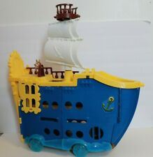 Mattel Jake the Neverland Pirates Captain Hook Boat Disney Mighty Colossus Ship