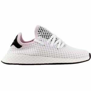 adidas-Deerupt-Runner-Casual-Running-Shoes-Pink-Womens-Size-6-5-B