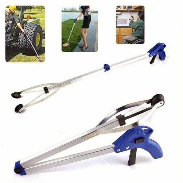 Handy Reacher Grabber Litter Picker Aid Tool Long Reach Stick