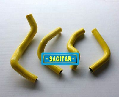 Yellow silicone radiator hose for SUZUKI DRZ400E 2003-2007 03 04 05 06 07