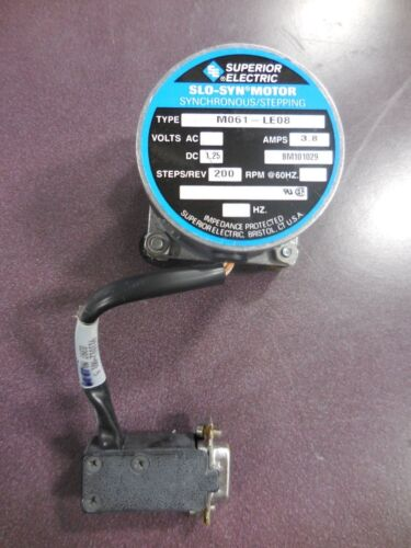 Superior Electric SLO-SYN Motor Type M061-LE08