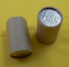 2 x 2006 50c rolls Coat of Arms COA Australia uncirculated coins roll 50 cent