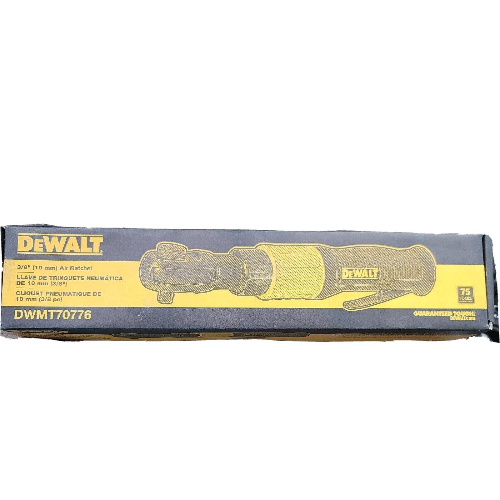 DeWALT DWMT70776 3/8-Inch 75 ft-lb Torque Durable Pneumatic Air Ratchet. Available Now for 54.86