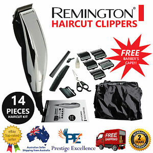 Remington electric hair clippers haircut kit home cut shaving image is loading remington electric hair clippers haircut kit home cut winobraniefo Image collections