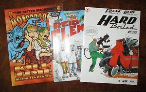 Comic Magazine Lot Motor Booty Hard Boiled Frank Miller Geof Darrow Reid Fleming