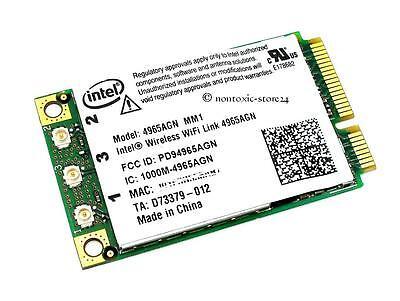 Liberaal Ntel 4965 Mini Pci Express 802.11n A/b/g Fujitsu Fsc