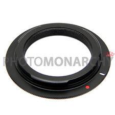 Anello adattatore OBIETTIVO ottiche M42 42x1 a vite su fotocamera CANON EOS M 42