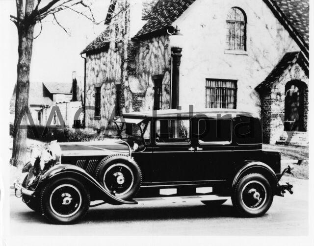 1936 Auburn 852 Four Door Sedan Ref. # 23193 Factory Photograph ...