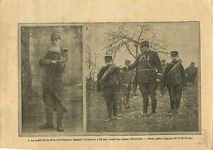 WWI-Poilus-Comte-de-La-Fitte-de-Pelleport-amp-Uniformes-Soldats-1915-ILLUSTRATION