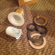 """* Trim to the Trade * Jr. Basket Strainer w/Basket * Fits 2"""" Opening *   White"""