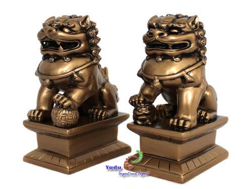 1 Paar Fu Hunde richtige Wachhund Fengshui