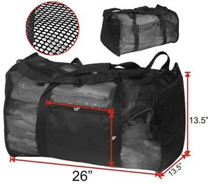 Image Is Loading Duffel Bag Gym Sports With Air