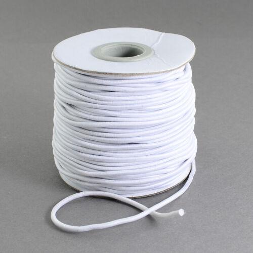 100m//roll White Nylon Elastic Cord Jewelry Beading Thread Stretch String 1.2mm