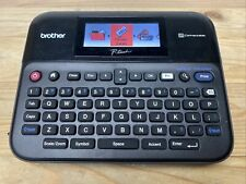 Brother P Touch Pt D600 Label Maker With Color Display With Adapter No Power Cord