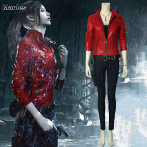 Resident Evil 2 Costume Claire Redfield Christmas Cosplay Game
