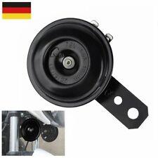 1 Signalhorn für 12V KfZ Hupe Chrom Autohupe Metall mit Halterung HORN NEU KRAD