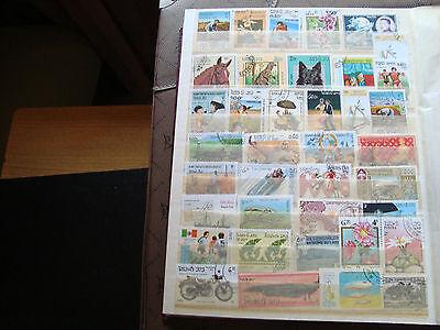 Schnelle Lieferung Asien - 38 Briefmarken Nicht Gestempelt (alle Staat) Briefmarke Ausgezeichnet Im Kisseneffekt