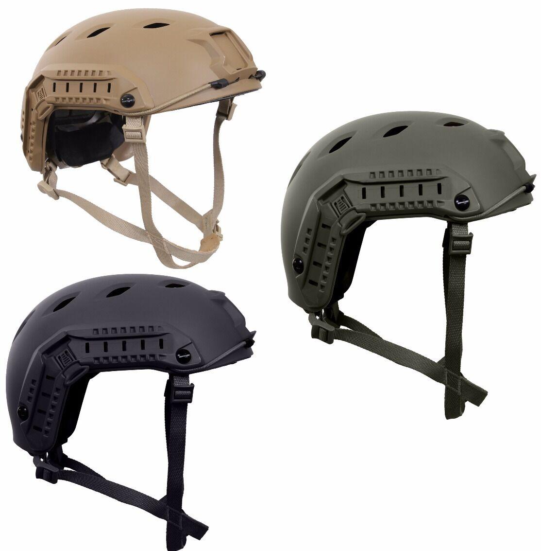 Airsoft Helmet Adjustable Advanced Tactical Lightweight  redhco