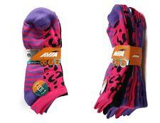 40c60efdc 6 x Genuine Avia Color Pulse Ladies No Show Arch Support Comfort Stretch  Socks