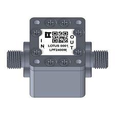 Low Pass Filter Ltcc Construction Pass Band Dc 2400mhz