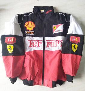 1ferrari Jacket Car Racing Coat Jacket Ebay