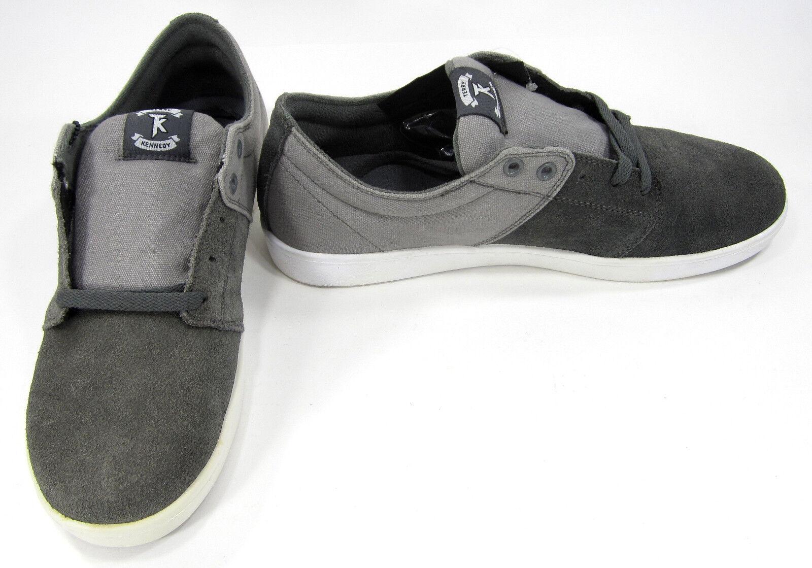 Sopra le scarpe scarpe scarpe stacks lo tela / greves grigio scarpe taglia 12 7877e1