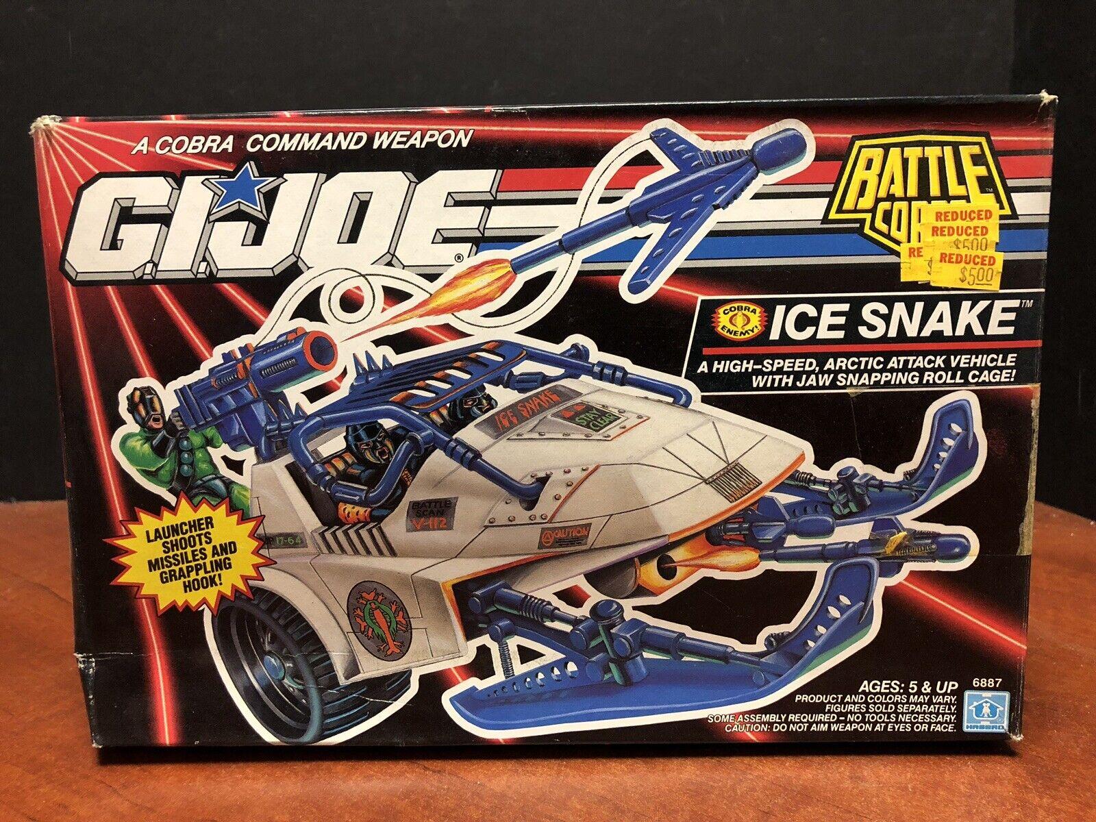 GI Joe 1992 Battle Corps Ice Snake Sealed Dela0187