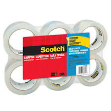 New Listingscotch Heavy Duty Shipping Packaging Tape 188 X 6015 Yd 6 Pack