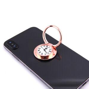 Universal-Finger-Ring-Grips-Mobile-Phone-Holder-Clock-Design-Pattern-Stick-On