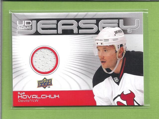 2010-2011 Upper Deck GU Game Jersey  IIya Kovalchuk Devils