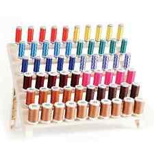 Premium 60 Spool Sewing Thread Organizer Embroidery Storage Rack