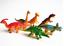 6pcs Large Assorted Dinosaurs Toy Plastic Figures Simulation Model Dinosaur SG