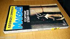 OSCAR MONDADORI # 296-GEORGES SIMENON-MAIGRET E L'AFFARE STRIP-TEASE-1993-SM61