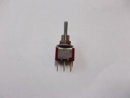 5A 120 VAC Kippschalter C /& K 7107 2A 250 VAC