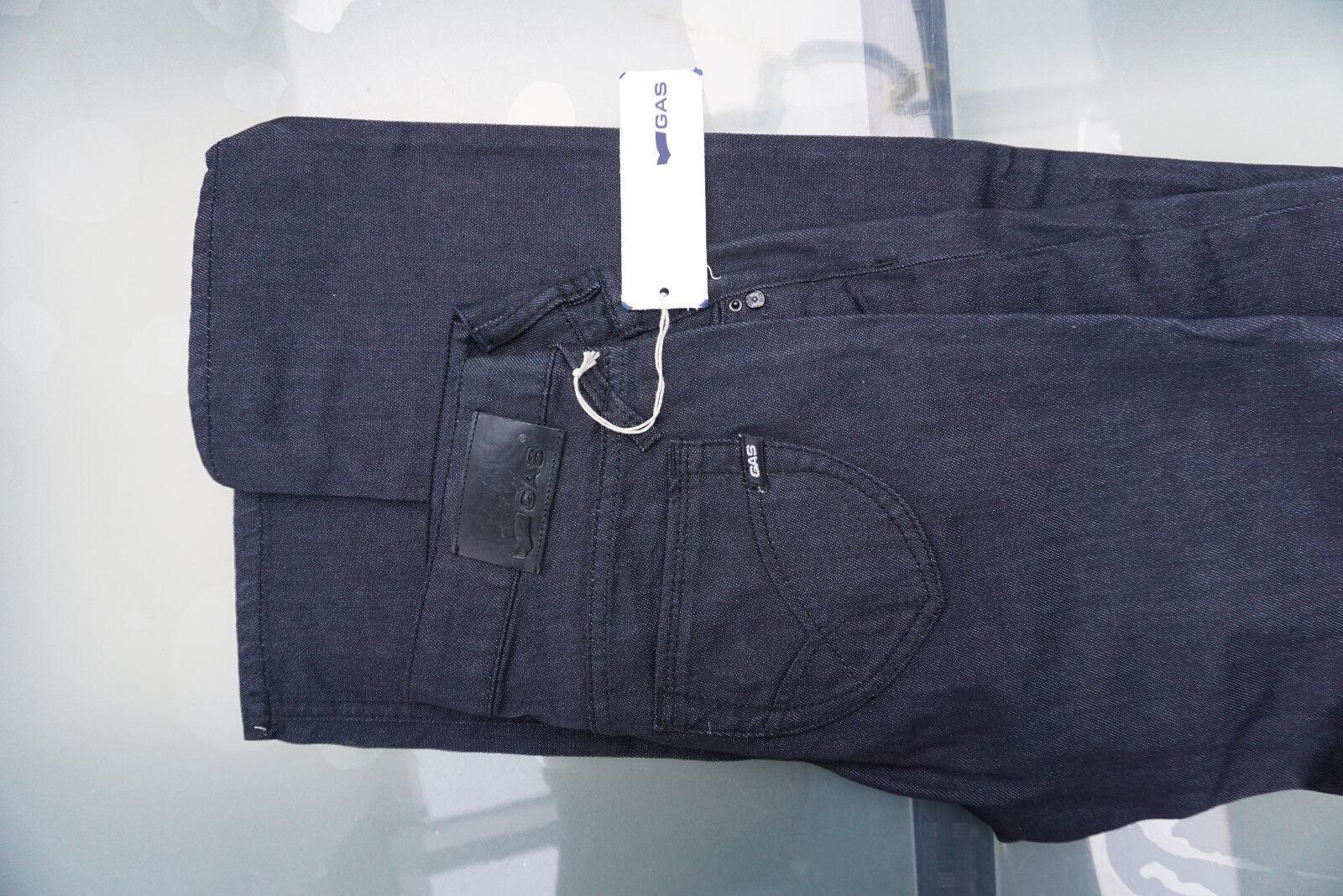 GAS Darline F Tight Damen Stretch Jeans Hose 27/34 W27 L34 ultra darkblue NEU