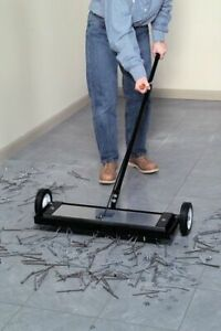 Zoro Select Mfsm24rx Magnetic Sweeper W/Release,160 Lb,30-1/4