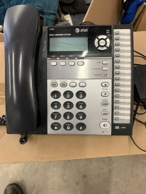 AT&T 4-Line Small Business System Phone 1040, 1070, 1080 ...