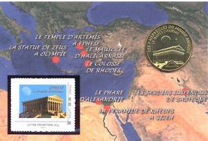 13-AUBAGNE-Encart-Temple-d-039-Artemis-2014-Monnaie-de-Paris